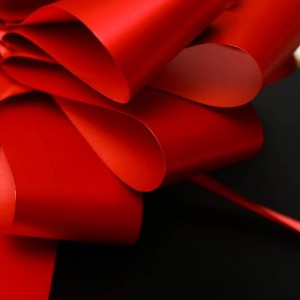 "Бант-шар №2,3 ""Классика"", цвет красный"