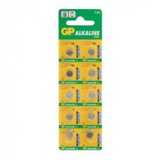 Батарейка GP Alkaline 192 (G3, LR41), алкалиновая, 1 шт.