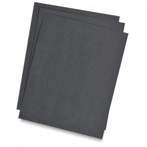 Бумага цветная двусторонняя А4 черная ПОШТУЧНО