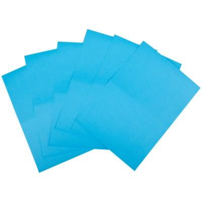 Бумага цветная двусторонняя А4 голубая ПОШТУЧНО