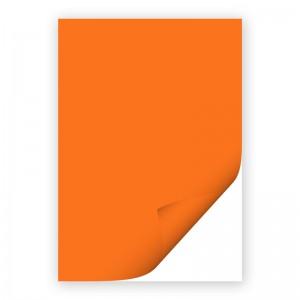Бумага цветная двусторонняя А4 оранжевая ПОШТУЧНО