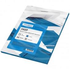 Бумага цветная OfficeSpace deep А4, 80г/м2, 50л. (синий)