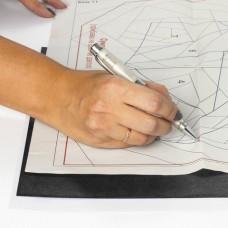 Бумага копировальная (копирка) черная А4, 100 листов, STAFF