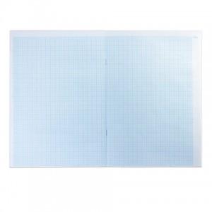 Бумага масштабно-координатная, А3, 295х420 мм, голубая, на скобе, 8 листов, HATBER