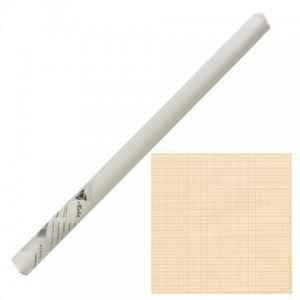 Бумага масштабно-координатная, рулон 640 мм х 10 м, оранжевая, STAFF