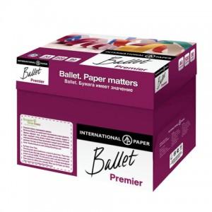 Бумага офисная BALLET PREMIER, А4, 80 г/м2, 500 л., марка А, International Paper, белизна 162%