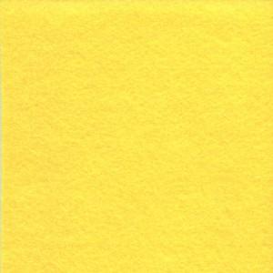 Цветной фетр для творчества в рулоне 500х700 мм, BRAUBERG/ОСТРОВ СОКРОВИЩ, толщина 2 мм, желтый