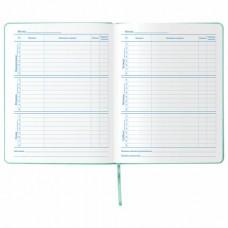 """Дневник 1-11 класс 48 л., обложка кожзам (твердая), тиснение, аппликация, BRAUBERG, """"РУСАЛКА"""""""