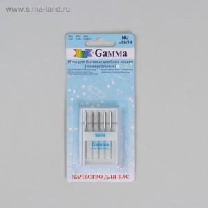 Иглы для бытовых швейных машин, для трикотажа, № 90/14 Gamma