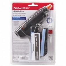 Клеевой пистолет 60 Вт для стержня 11 мм, с выключателем BRAUBERG