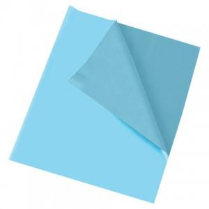 Клеёнка настольная ПИФАГОР для уроков труда, ПВХ, голубая, 69х40 см