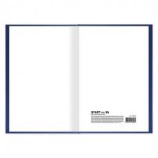 Книга учета 96 л., клетка, твердая, бумвинил, типографский блок, А4 (200х290 мм), STAFF
