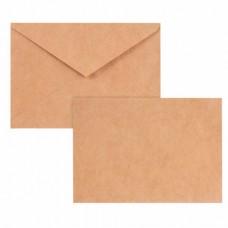 Конверт почтовый C6 (Малый формат) 114х162 мм КРАФТ 1шт.