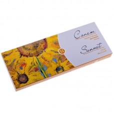 Краски масляные Сонет, 12 цветов, 10мл/туба