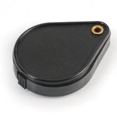 Лупа просмотровая BRAUBERG, складная, диаметр 50 мм, увеличение 6-кратное