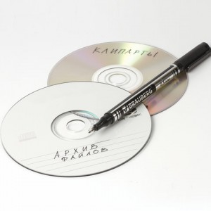 Маркер для CD и DVD BRAUBERG, ЧЕРНЫЙ, супертонкий металлический наконечник, 0,5 мм
