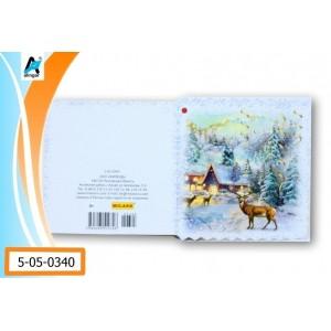 """Мини открытка """"Олени"""""""