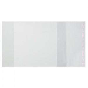 Набор обложек ПЭ 10 штук, 210 х 400 мм, 80 мкм, для тетрадей, с клеевым краем