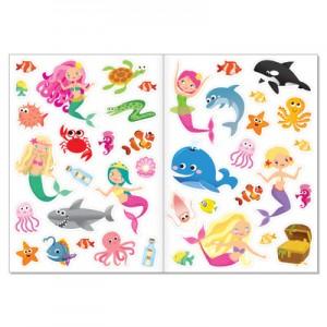 Наклейки многоразовые «Прекрасные русалки»