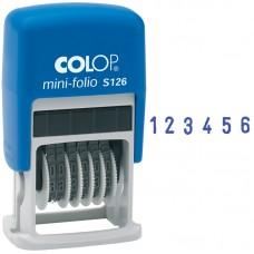 Нумератор мини автомат Colop, 3,8мм, 6 разрядов