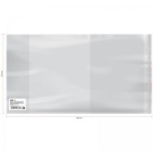 Обложка 210*380 для дневников и тетрадей, универсальная, ArtSpace, с липким слоем, ПП 80мкм ШК