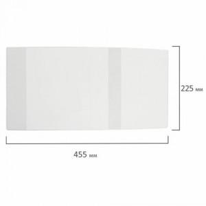 Обложка ПП 225х455 мм для дневников в твердом переплете и учебников, ЮНЛАНДИЯ, универсальная, 100 мк