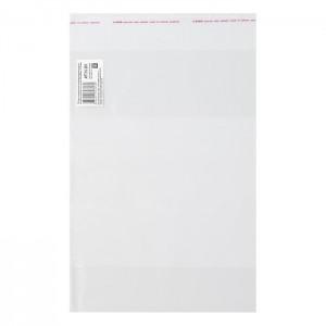 Обложка ПП 280 х 450 мм, 80 мкм, для учебников младших классов в твёрдой обложке, с клеевым краем