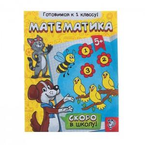 Обучающая книга «Математика»,16 стр.