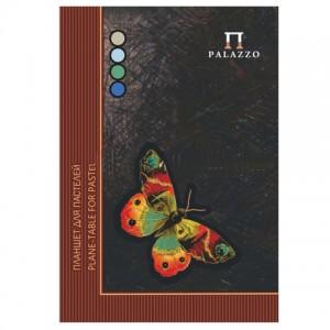 """Папка для пастели/планшет, А4, 20 л., 4 цвета, 200 г/м2, тонированная бумага, твердая подложка, """"Баб"""