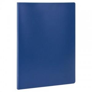 Папка с металлическим скоросшивателем STAFF, синяя, до 100 листов, 0,5 мм