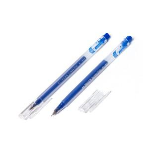 """Ручка гелевая, синяя, 0,5 мм. игольчатый, """"Jumbo GeL"""", увеличенный объем чернил"""