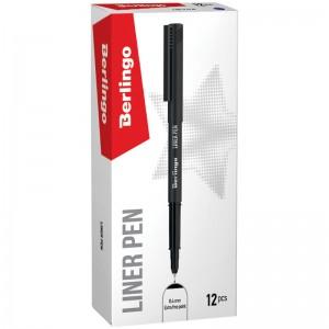 """Ручка капиллярная Berlingo """"Liner pen"""", черная, 0,4мм"""