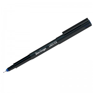 """Ручка капиллярная Berlingo """"Liner pen"""", синяя, 0,4мм"""
