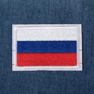 Термоаппликация «Флаг России», 6 × 4 см