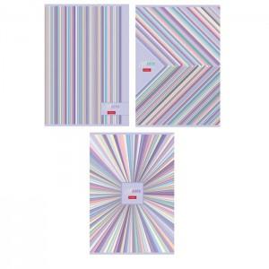 Тетрадь А4, 96 листов в клетку, Gentle design, обложка мелованный картон, МИКС