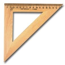 Треугольник деревянный, угол 45, 18 см, МОЖГА